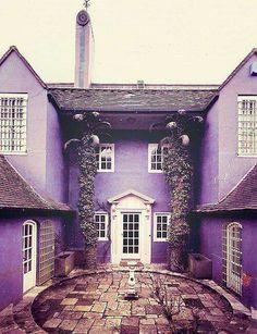 Purple building