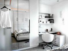 Jak wygospodarować miejsce na biurko w sypialni?