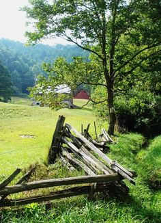 Old farm in Dunns, WV, located in Mercer County, WV