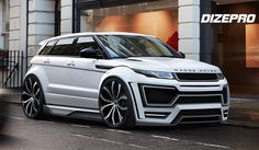 Body Kit Evoque by Dmitry Sergeev on ArtStation. Range Rover Evoque, Range Rover Sport, Best Luxury Cars, Luxury Suv, Cbx 250, Carros Audi, Range Rover Supercharged, Lux Cars, Buggy
