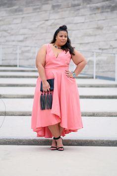 Plus Size Women S Western Clothing Online Plus Size Fashion Blog, Curvy Fashion, Look Fashion, High Fashion, Fashion Ideas, Womens Fashion, Curvy Plus Size, Plus Size Women, Plus Size Prom Dresses