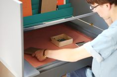 Living in a shoebox     A multifunctional desk by Agata Nowak