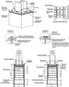 Building A Pole Barn, Building A House, Creative Architecture, Architecture Details, Civil Engineering Construction, Tensile Structures, Steel Detail, Construction Drawings, Pedestrian Bridge