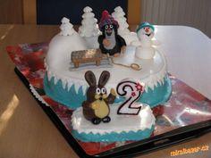 Krteček a sněhulák Cakes, Desserts, Food, Kuchen, Tailgate Desserts, Deserts, Cake Makers, Essen, Cake