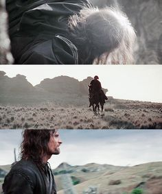 """""""Tolkien confessed that 1/3rd of the way through The Fellowship of the Ring some ruffian named Strider confronted the hobbits in an inn, & Tolkien was in despair. He didn't know who Strider was, where the book was going, or what to write next. Strider turns out to be no lesser person than Aragorn, the unrecognized & uncrowned king of all the forces of good, whose restoration to rule is, along with the destruction of the evil ring, the engine that moves the plot of the whole massive trilogy."""""""