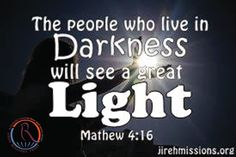 Jireh Missions: Into Light...