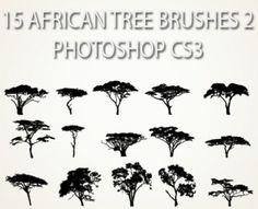 african family tree tattoos | African Tree Cartoon