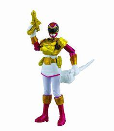 Amazon Power Rangers Megaforce Metallic Force Ultra Pink Ranger Toys Games