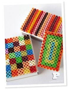 Perler Bead Decorated Boxes - Things to Make and Do, Crafts and Activities for Kids - The Crafty Crow