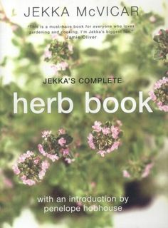 Kitchen herb gardening book