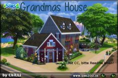 The Sims Resource: Grandmas House by ChiLLi • Sims 4 Downloads