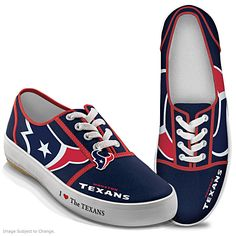 I Love The Texans Women's Shoes