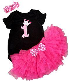 AISHIONY® Baby Girls 1st Birthday Tutu Outfit Newborn Bla... https://www.amazon.com/dp/B01EXDC5QQ/ref=cm_sw_r_pi_dp_snSFxbKWWTATD
