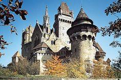 Kreuzenstein Castle - Niederösterreich, Austria. 30 minutes drive from Vienna. 2100 Leobendorf bei Korneuburg, Austria
