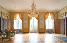 Den vackra salen i Haga slott.