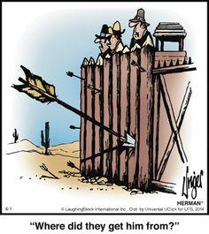 Today on Herman - Comics by Jim Unger Herman Cartoon, Herman Comic, Funny Long Jokes, Funny Memes, It's Funny, Funny Cartoon Pictures, Funny Photos, Adult Cartoons, Funny Cartoons