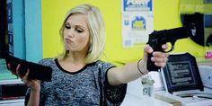 """Eliza Taylor estrelará o drama policial """"Thumper"""" Bellamy The 100, Lexa The 100, Clarke And Lexa, The 100 Clexa, Eliza Taylor, Eliza Jane Taylor Cotter, The 100 Show, The 100 Cast, Long Curly Hair"""
