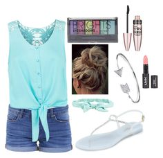 """""""Summer is almost here!"""" by k-k1234 ❤ liked on Polyvore featuring BLANKNYC, Monsoon, L.K.Bennett, Aéropostale, Bling Jewelry, Boohoo and Maybelline"""