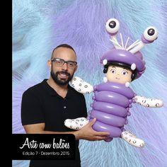Balloon Designs, Balloon Ideas, Balloon Decorations, Baby Birthday, Birthday Parties, Monsters Inc University, Monsters Inc Boo, Balloon Toys, Disney Balloons
