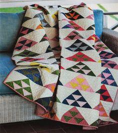 Pomegranate Mountain~Quilt Pattern From Magazine~Scraps & Fat Quarter Friendly