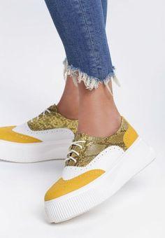 Pantofi Oxford Lierda Galbeni Lei, Superga, Sneakers, Shoes, Fashion, Tennis, Moda, Slippers, Zapatos