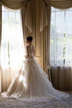 東京駒込のアトリエ発*職人の技術とまごころが込められた『カンタベッラ』の極上ドレス特集♡にて紹介している画像
