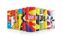 Super Hero Energy Drink  -  Awesome!