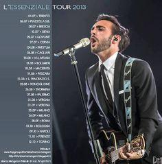 Tutte le info sulle Date de L'ESSENZIALE TOUR qui http://durimarcomengoni.blogspot.it/2013/06/biglietti-per-lessenziale-tour.html