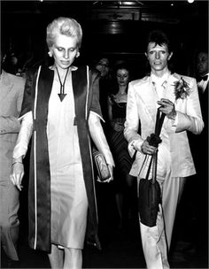 Angie e David Bowie, 1973