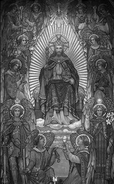 The Adoration of Christ the King, through the Holy Eucharist