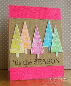 Happy Holiday Colors! | 'Tis the Season | by Lucy Abrams @hedgehogsandladybirds
