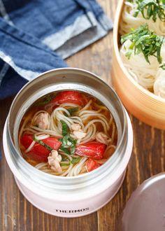 そうめんの人気料理・レシピランキング 369品 | Nadia Healthy Cooking, Cooking Recipes, Healthy Recipes, Tasty Dishes, Food Dishes, Soup In A Jar, Crescent Recipes, Pinwheel Recipes, Mug Recipes