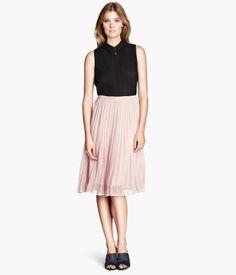 Pleated Skirt -  H&M