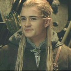 Legolas and his dirty-thinking-face :) isn't he cute