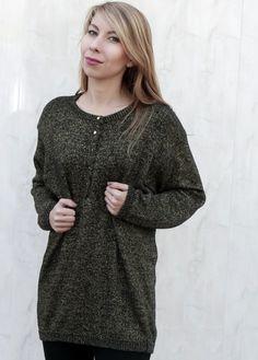 Sweter w stylu grunge. www.killmint.com  #sweater Vintage Shops, Grunge, Turtle Neck, Sweaters, Shopping, Dresses, Fashion, Vestidos, Moda