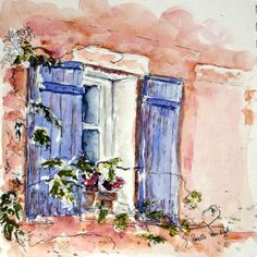 I love watercolor paintings