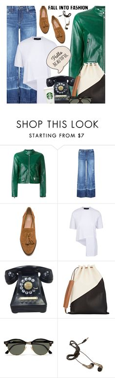 """Untitled #407"" by ino-6283 ❤ liked on Polyvore featuring Dolce&Gabbana, Tortoise, Joe's Jeans, Marni, Ray-Ban and Forever 21"