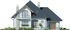 Modern Bungalow House, Home Fashion, Home Projects, Villa, Cabin, Mansions, House Styles, Interior, Wood