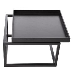 TIME Sofa Table Black Stolik - NORR11 - DECORTIS.COM