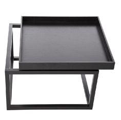 TIME Sofa Table Black Stolik - NORR11 - DECORTIS.COM