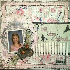DT Project by Rae Moses using the January 2014 Shabby Chalet kit.