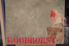 Serie vogels: roodborst
