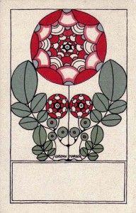 Vienna Secession Postcard  #782