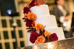 Fall wedding cake. #fallwedding #weddingcake #fallweddingcake.