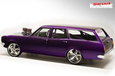 Nathan Magri built a stunning elite-level HG Holden wagon to do one thing - destroy tyres on the burnout pad Big Girl Toys, Girls Toys, Holden Wagon, Holden Kingswood, Aussie Muscle Cars, Bmw Cars, Custom Cars, Ford Mustang, Vintage Cars