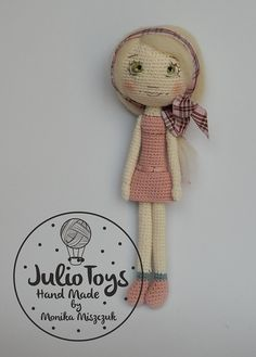 This is a crochet pattern PDF - NOT the actual finished doll at the photos! The pattern is available in ENGLISH (US terminology) Once purchased you´ll receive your pattern as attachment in your Conversation´s section on Etsy in a few hours maximum (depends on time zone). Level: