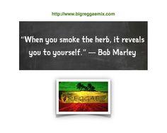 Bob Marley Marijuana Quote