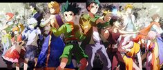 Hunter x hunter and yu yu hakusho
