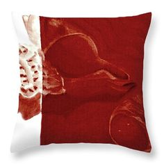 """Two Shells Throw Pillow 14"""" x 14"""""""