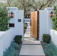 exterior from What a . - - Beautiful exterior from What a … – -Beautiful exterior from What a . - - Beautiful exterior from What a … – - Casa Patio, Patio Dining, Backyard Patio, House Entrance, Garden Entrance, Courtyard Entry, House Doors, Patio Entrance Ideas, Spanish Courtyard